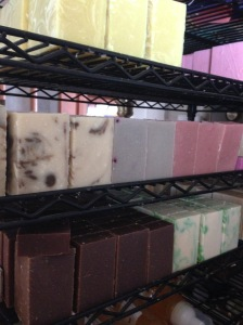 curing soap